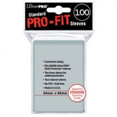 Ultra Pro Pro Fit Clear 100ct