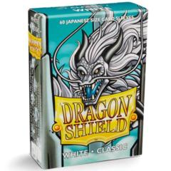 Dragon Shield Japanese Size 60 Count - Classic White