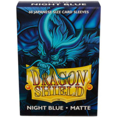Dragon Shield 60 Count - Night Blue Matte
