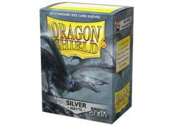 Dragon Shield 100 Count - Silver Matte Non Glare