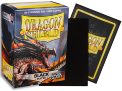 Dragon Shield 100 Count - Black Matte Non Glare