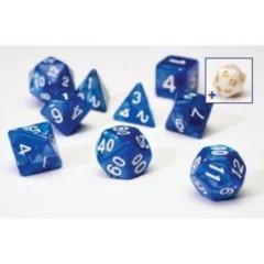 Sirius Dice - Pearl Blue 7 Set