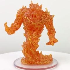 Fire Elemental From the set Fangs  Talons