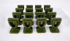 Order Markers - Green (16)