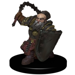 HARRIM, DWARF CLERIC Kingmaker Pathfinder miniature