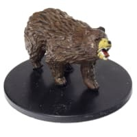 Brown Bear  #25 Dragon Heist D&D Miniature