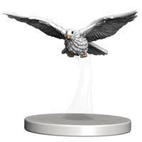 Bird flying 1/1 Overwhelming Swarm miniature MTG token