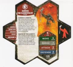 Kurrok the Elementalist Warriors of Eberron