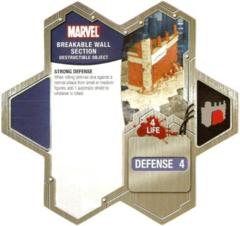 Breakable Wall Section The Conflict Begins (Marvel)
