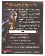 5x Neverwinter MMORPG Redeemable Code (PC Only) Tomb of Annihilation