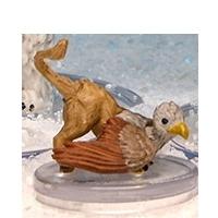 Griffon Hatchling Snowbound