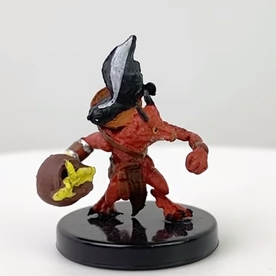 Kobold Inventor (flame pot) From the set Fangs  Talons