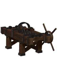 Torture Rack Ruins of Lastwall Pathfinder Miniatures
