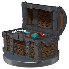 Treasure Overwhelming Swarm miniature MGT token