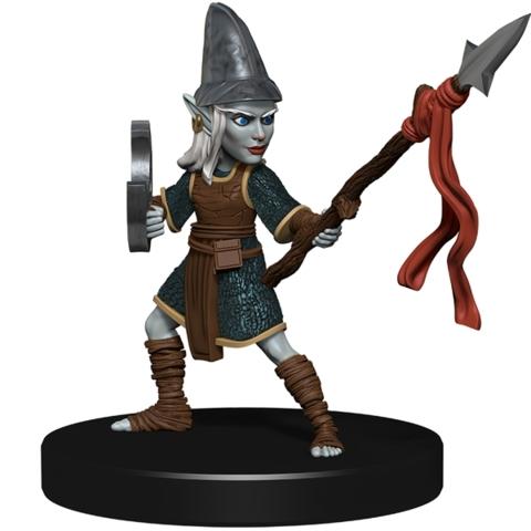 Deep Gnome Warrior DARKLANDS RISING Pathfinder miniature