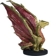 Brass Dragon Wyrmling Monster Menagerie set 2