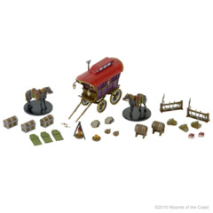Adventurer's Camp Case Incentive Monster Menagerie set 2
