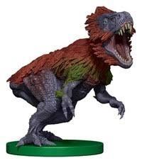 Dinosaur trample 3/3 Overwhelming Swarm MTG token