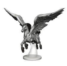 Pegasus flying 1/1 Overwhelming Swarm miniature MTG token