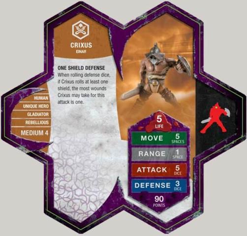 Crixus Thoras Vengeance