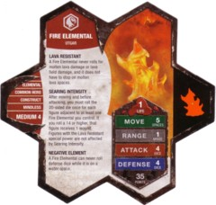Fire Elemental Champions of the Forgotten Realms