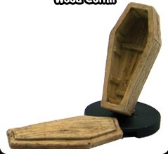 Wood Coffin