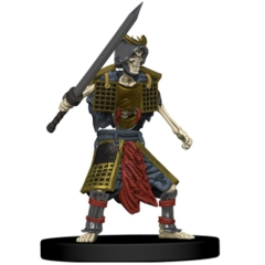 Skeletal Samurai Ruins of Lastwall Pathfinder Miniatures