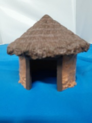 Shrine Keepers Hut from Wizkids 4D Settings Jungle Shrine