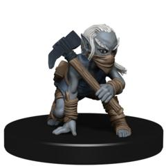Deep Gnome Scout DARKLANDS RISING Pathfinder miniature