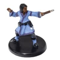 Apprentice Wizard (Blue Robe)  #08b Dragon Heist D&D Miniature