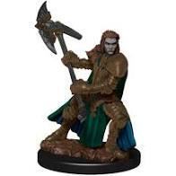 D&D Premium Figure: Half Orc Fighter Female