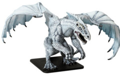 Icingdeath, Gargantuan White Dragon Legend of Drizzt Scenario pack