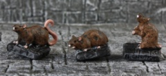 Giant Rats (3 figs) Legendary Encounters