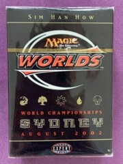 Sim Han How's Worlds 2002 Sydney Deck (sealed)