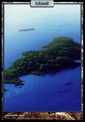 Island (137)  Signed by John Avon