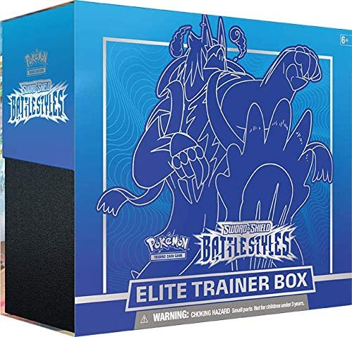 Pokemon Elite Trainer Box - Swords & Shields Battle Styles (Blue)