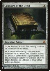 Grimoire of the Dead - The List