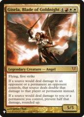 Gisela, Blade of Goldnight - The List