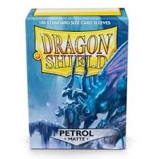 Dragon Shield Sleeves: Matte Petrol (Box Of 100)