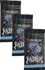 Kaldheim Collector Booster Packs x3