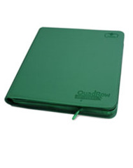 Ultimate Guard QuadRow Zipfolio -  Green