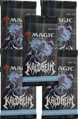 Kaldheim Collector Booster Packs x5