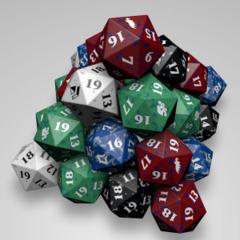 Magic Spindown Die -- Assorted x1