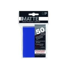 Ultra Pro Deck Protectors Matte BLUE - 50