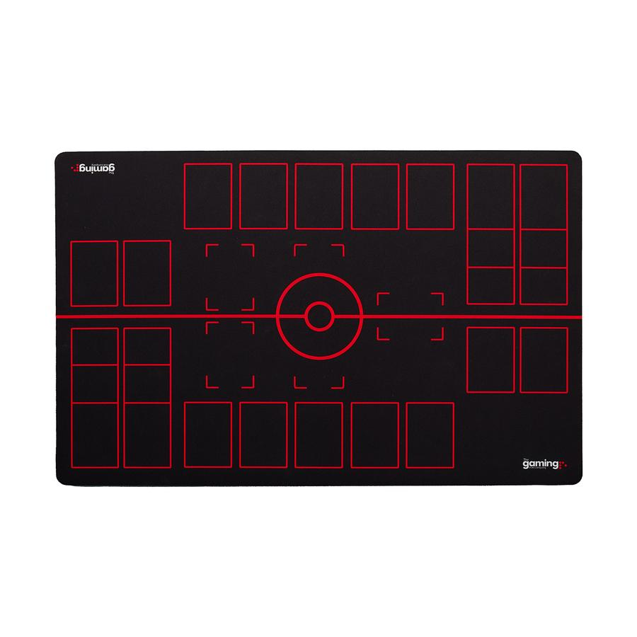 GMC Black and Red Pokemon Gaming Mat