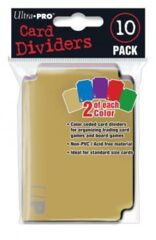 Ultra Pro - Card Dividers (10 Pack)
