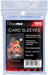 Ultra Pro Soft Sleeves (100ct.)