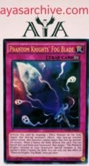 Phantom Knights' Fog Blade - WIRA-EN009 - Ultra Rare - 1st Edition