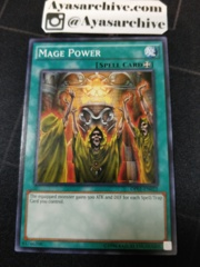 Mage Power - OP01-EN022 - Common - Unlimited Edition
