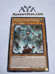 Ancient Gear Frame - LED2-EN030 - Rare - 1st Edition